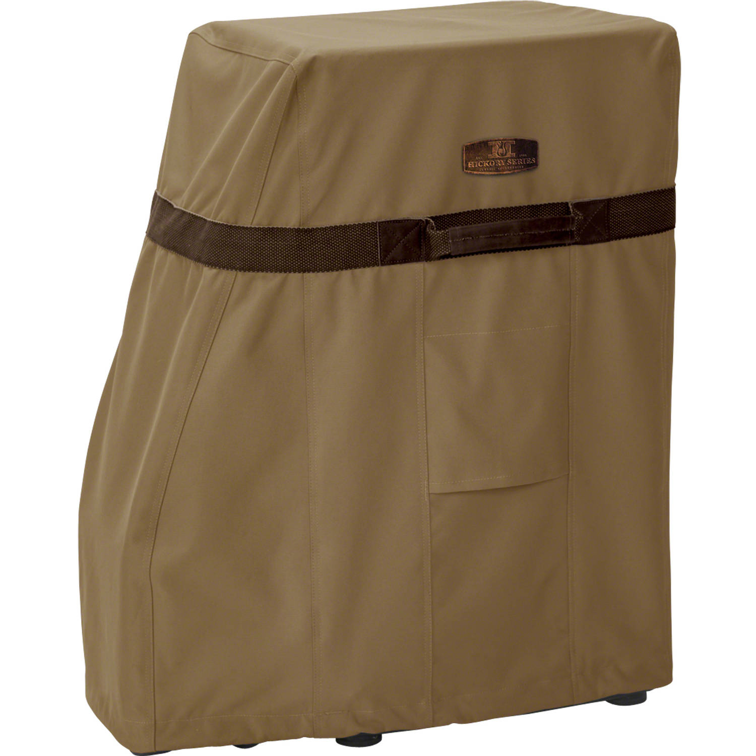 "Classic Accessories Hickory Square Smoker Patio Storage Cover, Up to 17""L x 14""W, Medium"