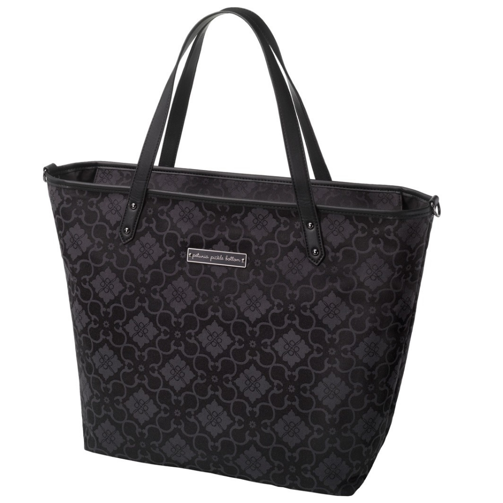 Petunia Pickle Bottom Downtown Tote - Paris Noir