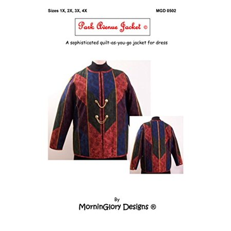 MorninGlory Designs Park Avenue Jacket Pattern, Sizes 1X to 4X - Park Avenue Coat