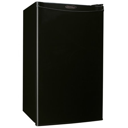 Danby Compact Mini Bar Dorm Home Beverage Cooler Fridge Refrigerator, Black Beverage Cooler Compact Refrigerator