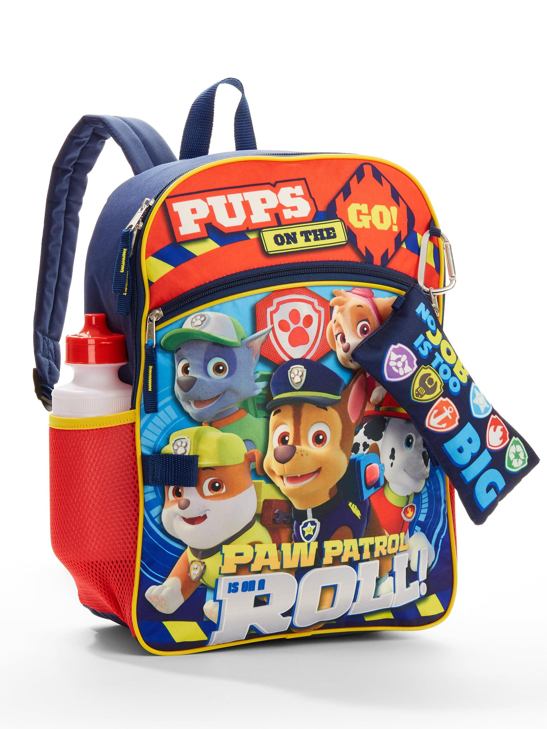 4ea4cdc1ba PAW Patrol - Paw Patrol 5 Piece Backpack Set - Walmart.com