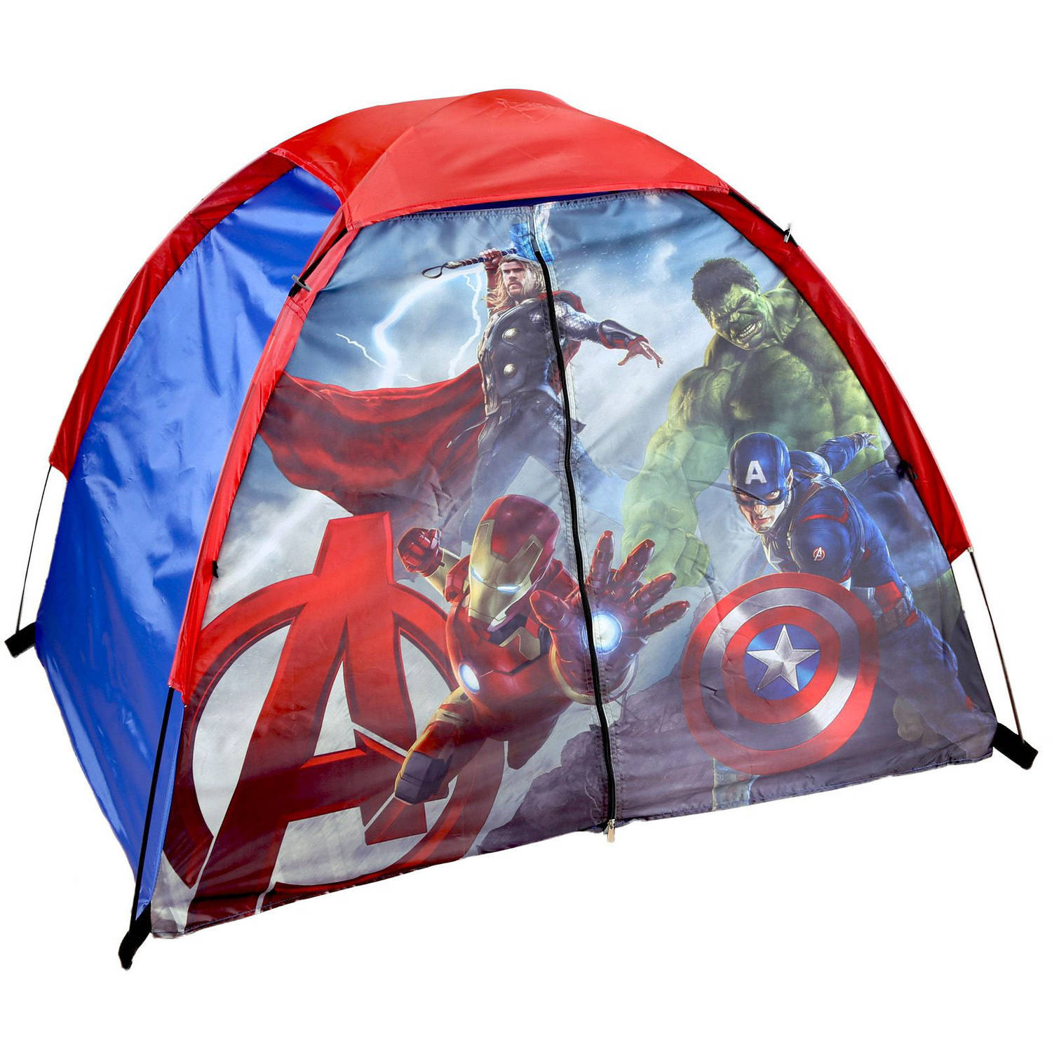 Marvel Avengers 4u0027 x 3u0027 x 36  2-Pole Dome Tent with Mesh Ceiling - Walmart.com  sc 1 st  Walmart : play tents for kids target - memphite.com