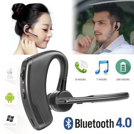 Wireless Bluetooth 4.0 Stereo Music Earphone Handsfree Headphone Earbuds with Microphone, up to 8 hours working time