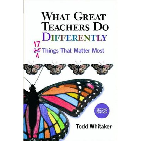 What Great Teachers Do Differently : 17 Things That Matter Most](The Teachers Store)