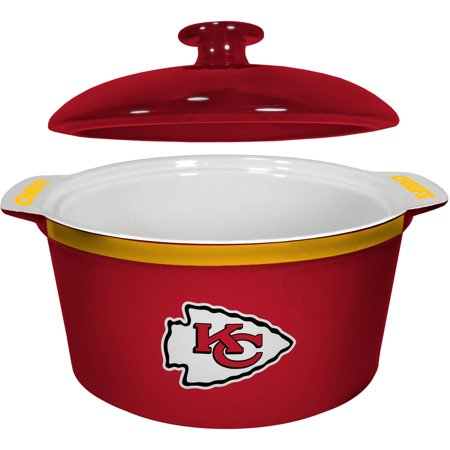 NFL Kansas City Chiefs Ceramic Game Time Oven Bowl by