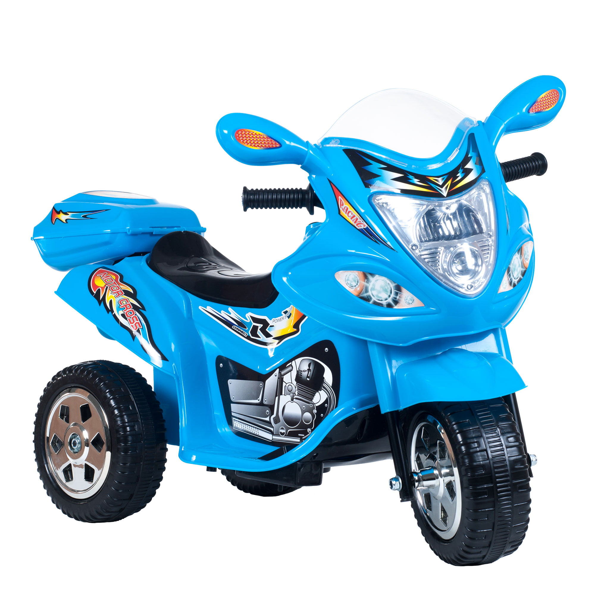 Ride on Toy, 3 Wheel Trike Motorcycle for Kids, Battery Powered Ride On Toy by Lil Rider �... by Trademark Global LLC