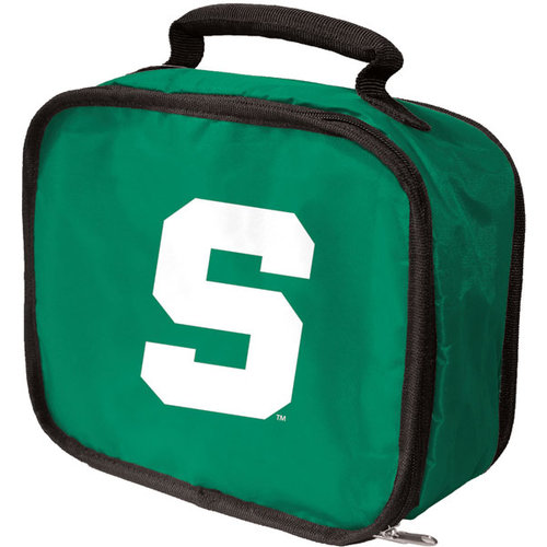 Michigan State Spartans Official NCAA 10 inch  x 9 inch  x 4 inch  Lunchbreak Insulated Lunch Box Lunchbox Bag by Concept One