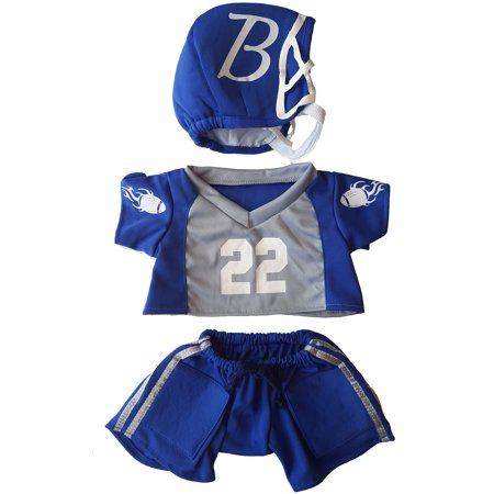 Teddy Bear Outfit For Dogs (Football Uniform Outfit Teddy Bear Clothes Fits Most 14