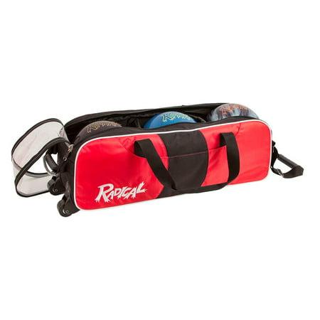 Radical Triple Tote Bowling Bag no shoes ()