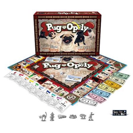 Late for the Sky Pug-opoly - Sky Breeze Games Halloween