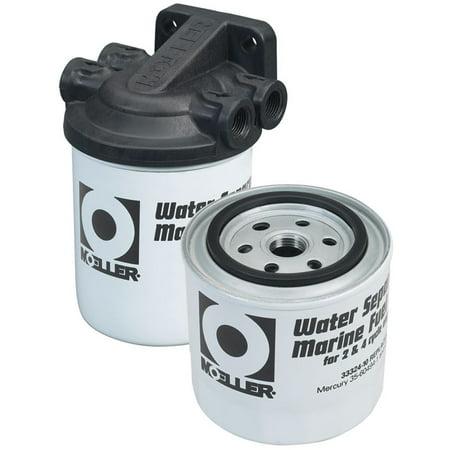 Moeller 3/8 Twin Fuel Filter Water Sperating Kit 033322-10