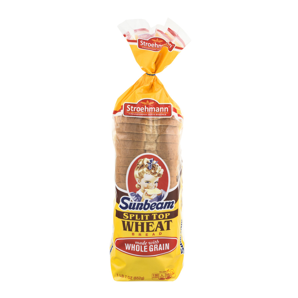 Sunbeam Split Top Wheat Bread, 23.0 OZ