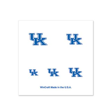 Wildcats Four (Kentucky Wildcats Fingernail Tattoos - 4 Pack )
