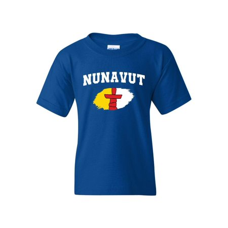 Canada Nunavut Unisex Youth Shirts T-Shirt Tee Canada Unisex T-shirt