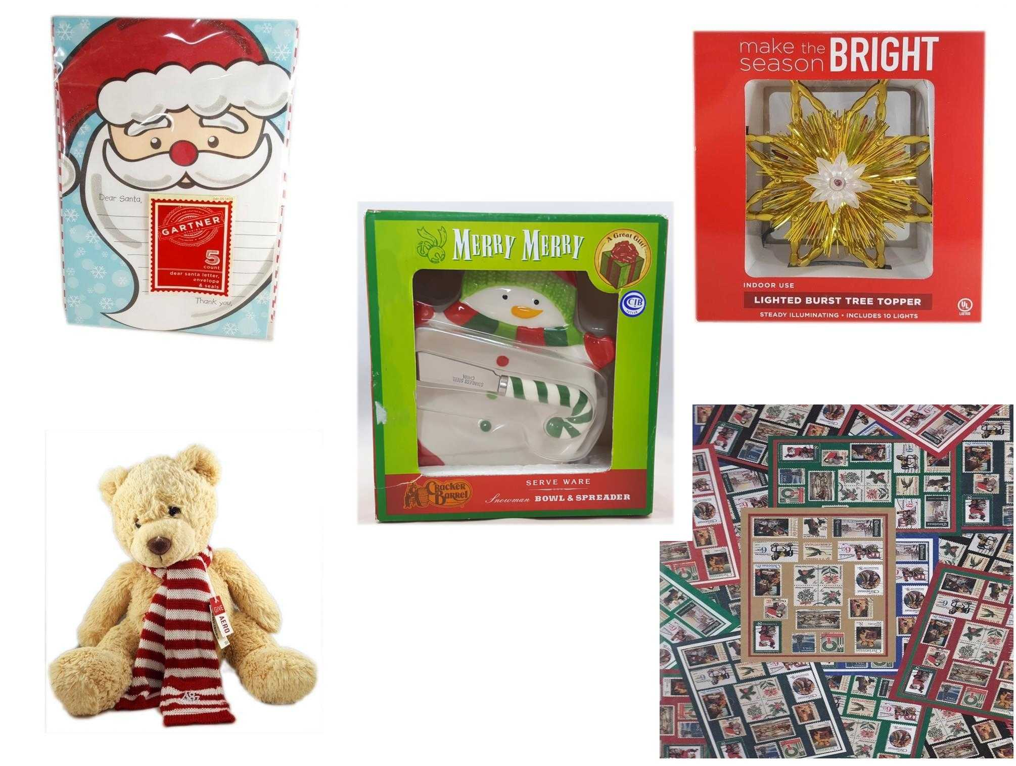 Christmas Fun Gift Bundle 5 Piece Gartner Dear Santa Letter 5 Count