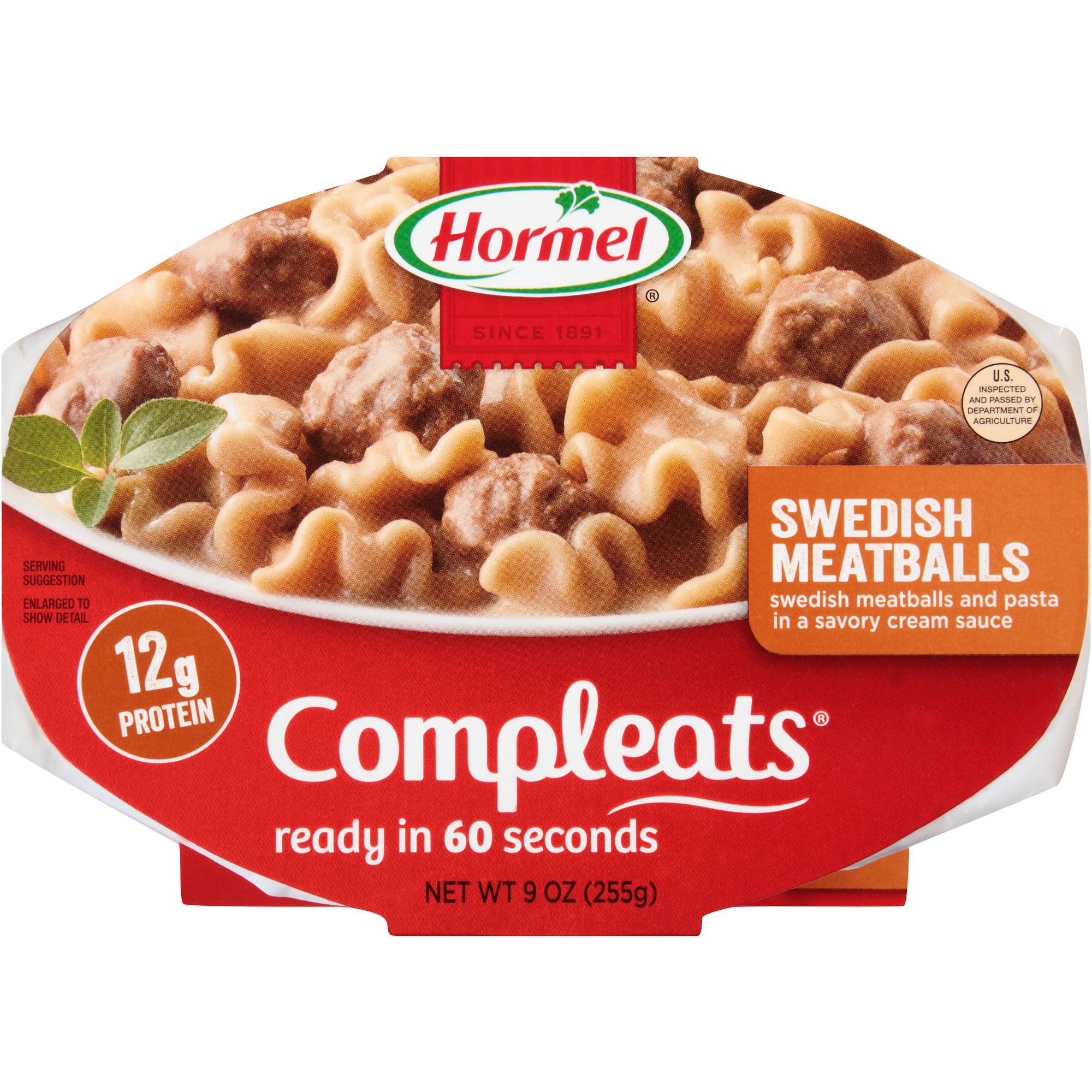Hormel Compleats Swedish Meatballs, 9 oz