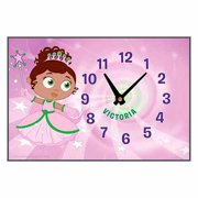 Personalized Super Why! Princess Presto Glitter Time Desk Clock