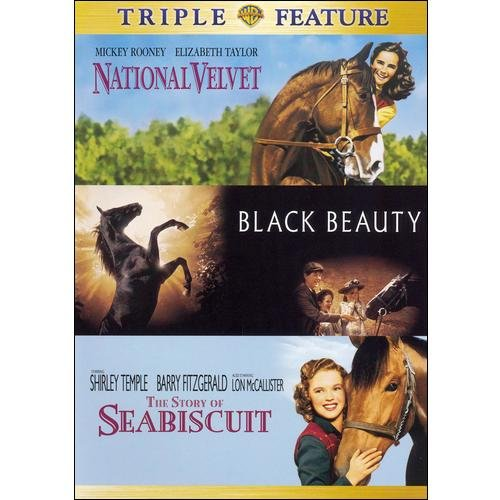National Velvet / The Story Of Seabiscuit / Black Beauty (Full Frame)