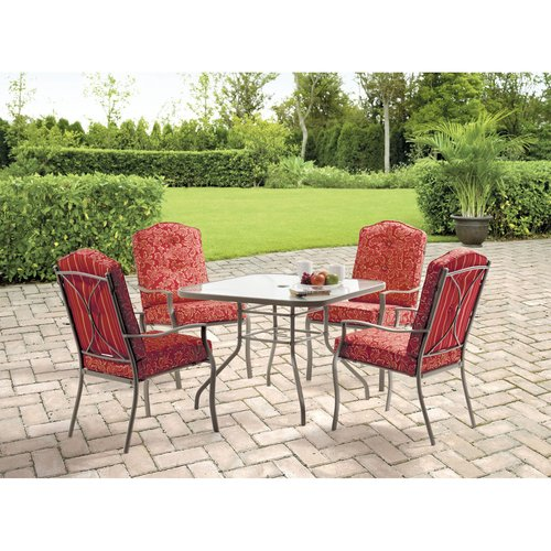 Mainstays 5 Piece Dining Set Walmart