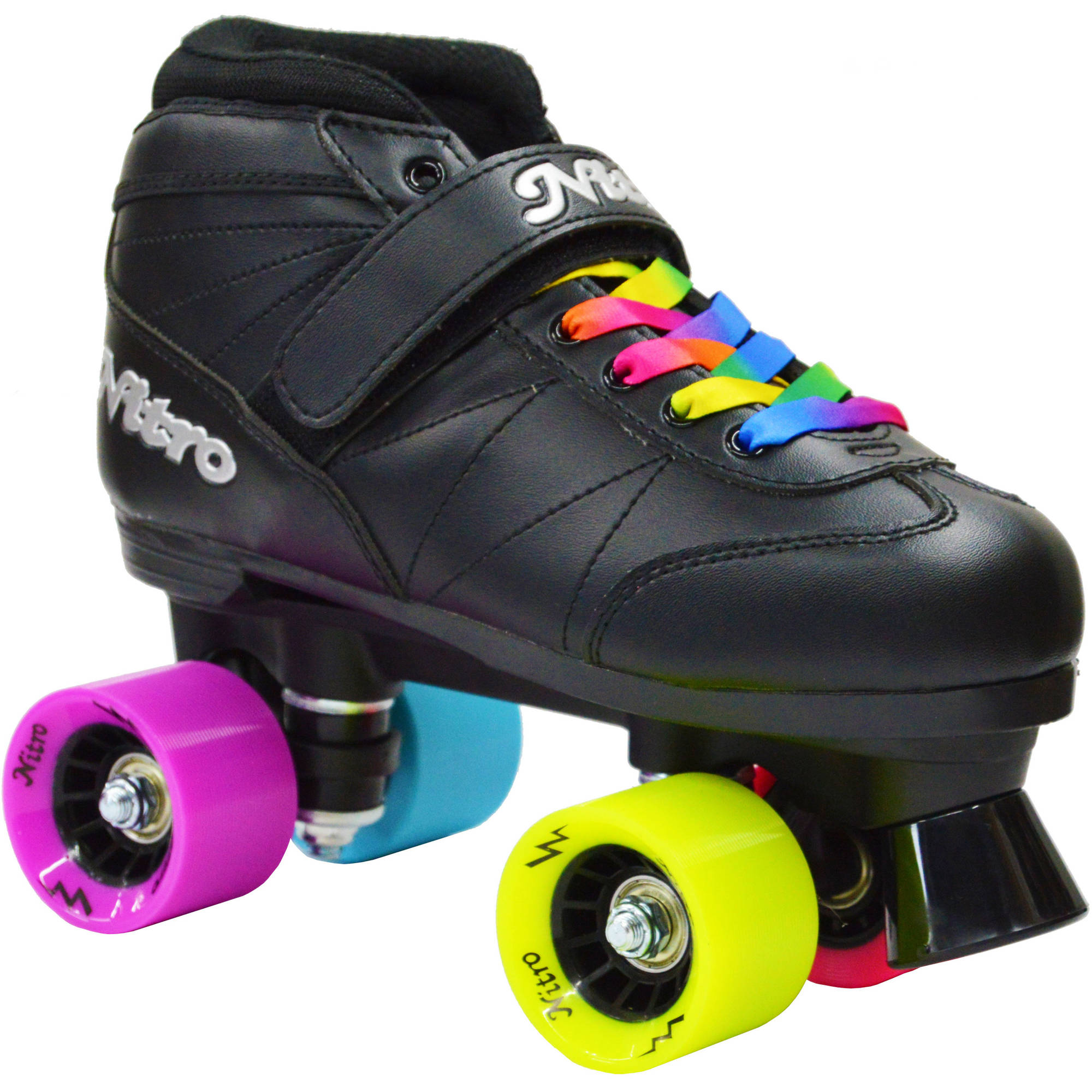 Epic Skates Rainbow Nitro Quad Speed Skates by Epic Skates