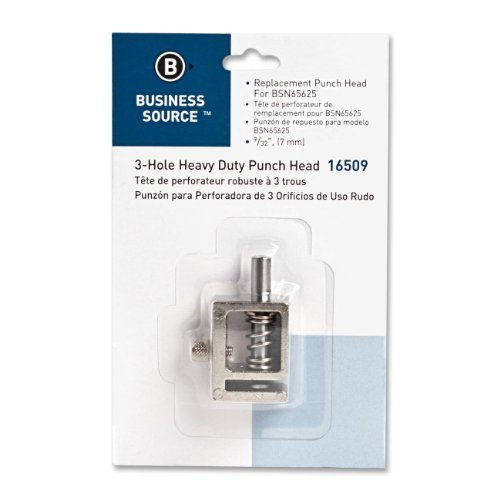 "Business Source Replacement Punch Head - 0.28"" - Silver (BSN16509)"