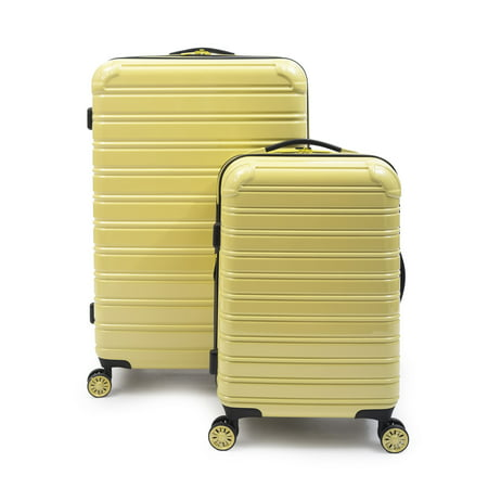iFLY Hardside Fibertech Luggage, 2 Piece Set Ballistic Nylon Luggage Sets