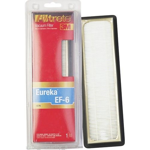 Eureka EF-6 Vacuum Filter - Fits Eureka Airspeed AS1000 series upright vacuums By 3M Filtrete - Part # 67826