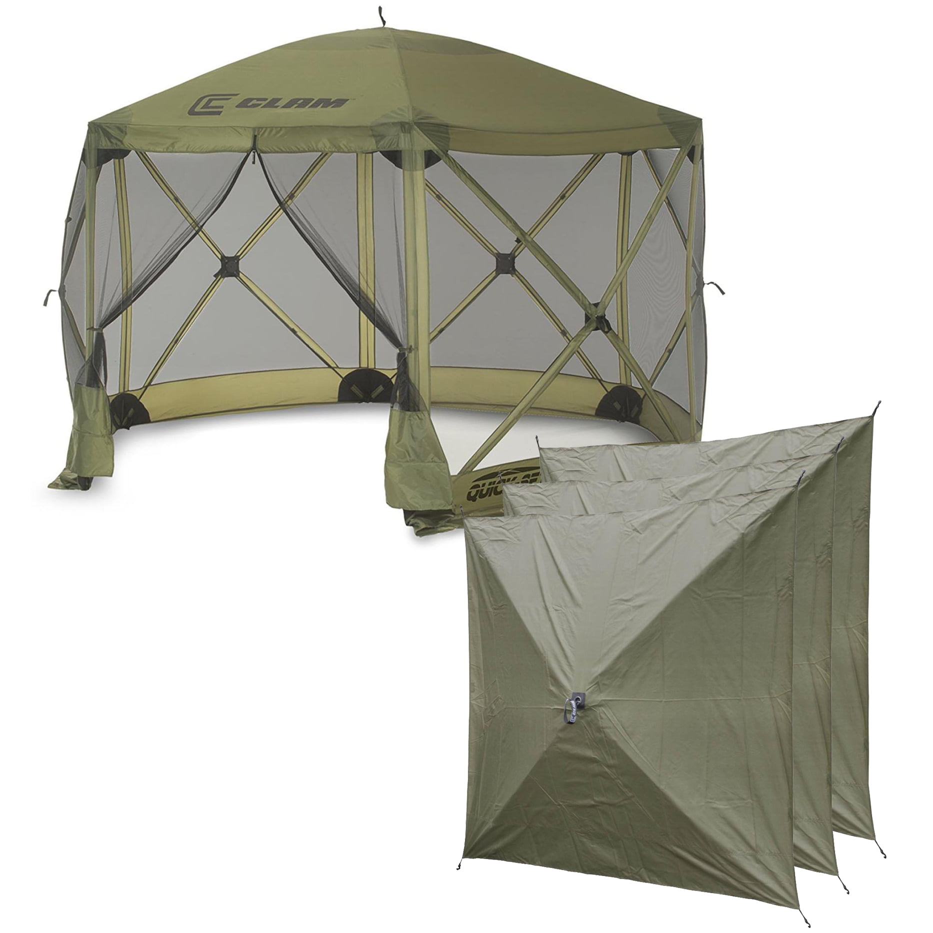Clam Quick Set Escape Portable Camping Outdoor Canopy ...