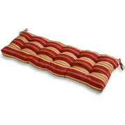 """Greendale Home Fashions 51"""" Outdoor Bench Cushion, Roma Stripe"""