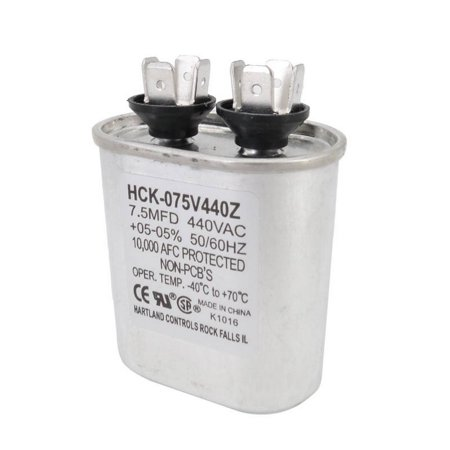 AquaComfort AQC100204 7.5 MFD Fan Capacitor for Heat Pumps ()