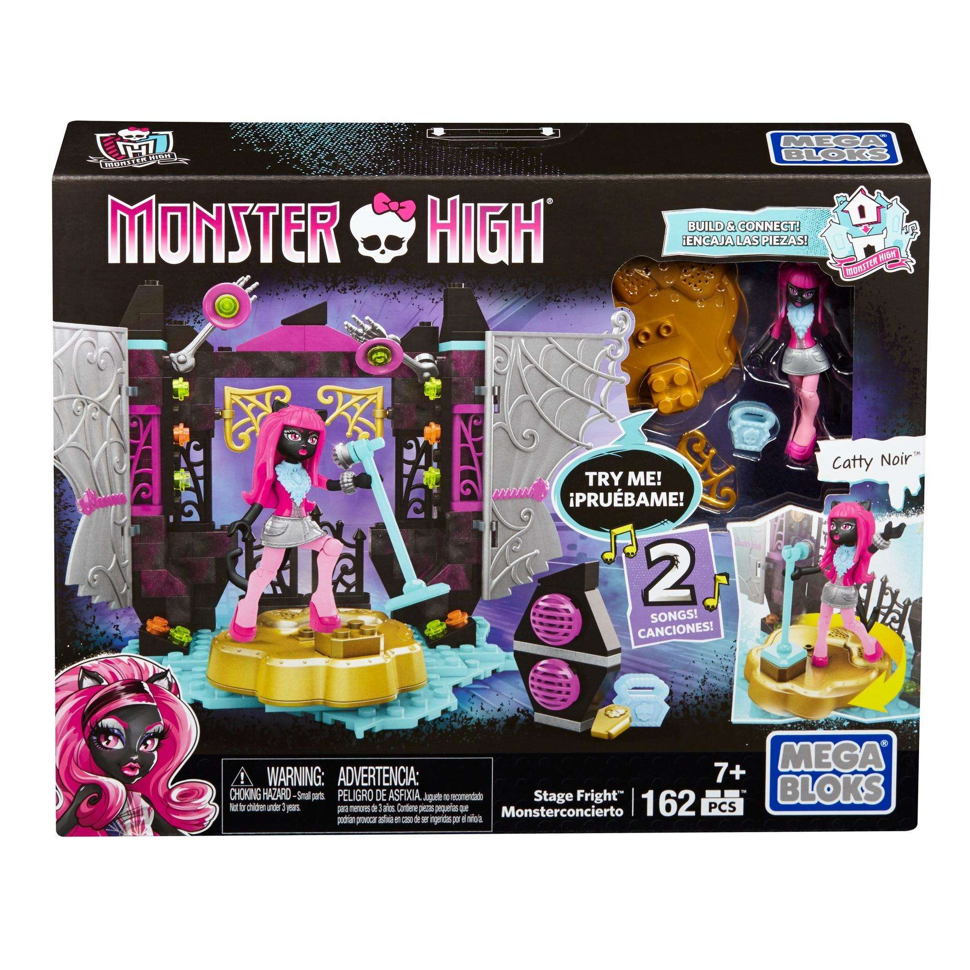 Mega Bloks Monster High Stage Fright Playset