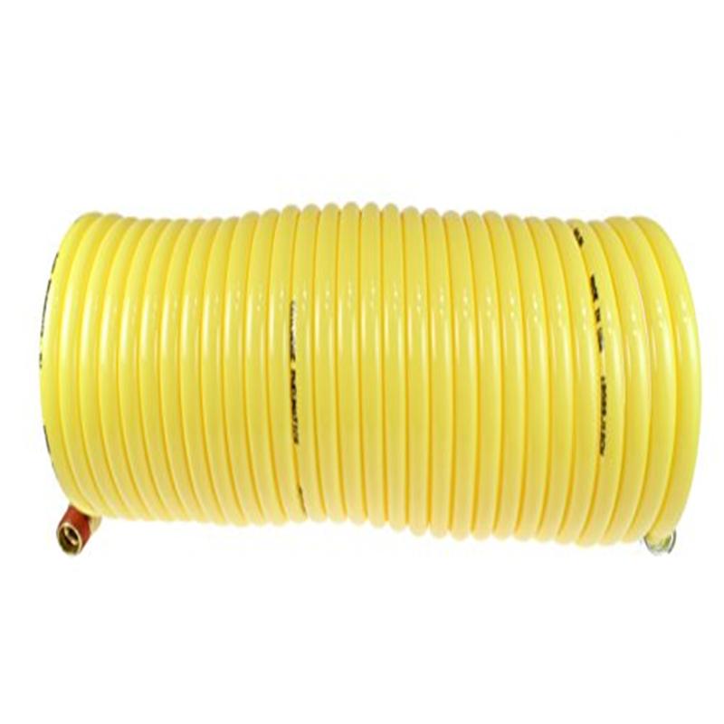Coilhose Pneumatics N38-25B Coiled Nylon Air Hose, 3/8-In...