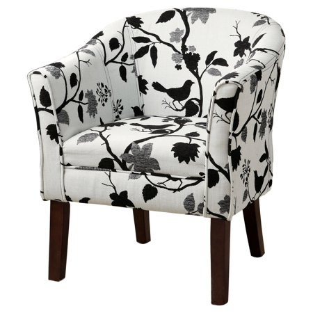 Enjoyable Coaster Company Accent Chair Black And White Camellatalisay Diy Chair Ideas Camellatalisaycom