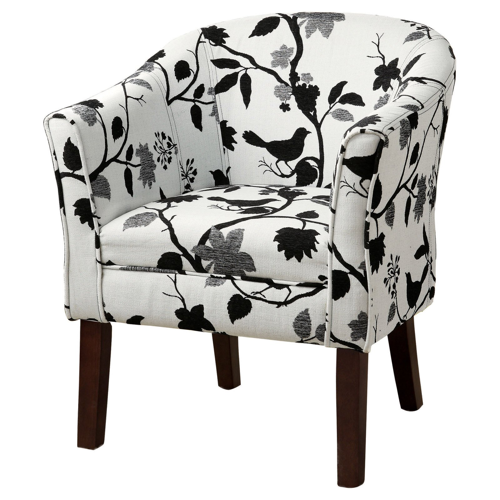 Exceptionnel Coaster Company Accent Chair, Black And White