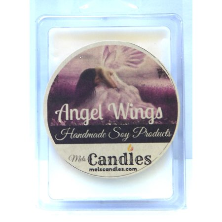 Angel Wings - 3.2 Ounce Pack of Soy Wax Tarts (6 Cubes Per Pack) - Scent Brick