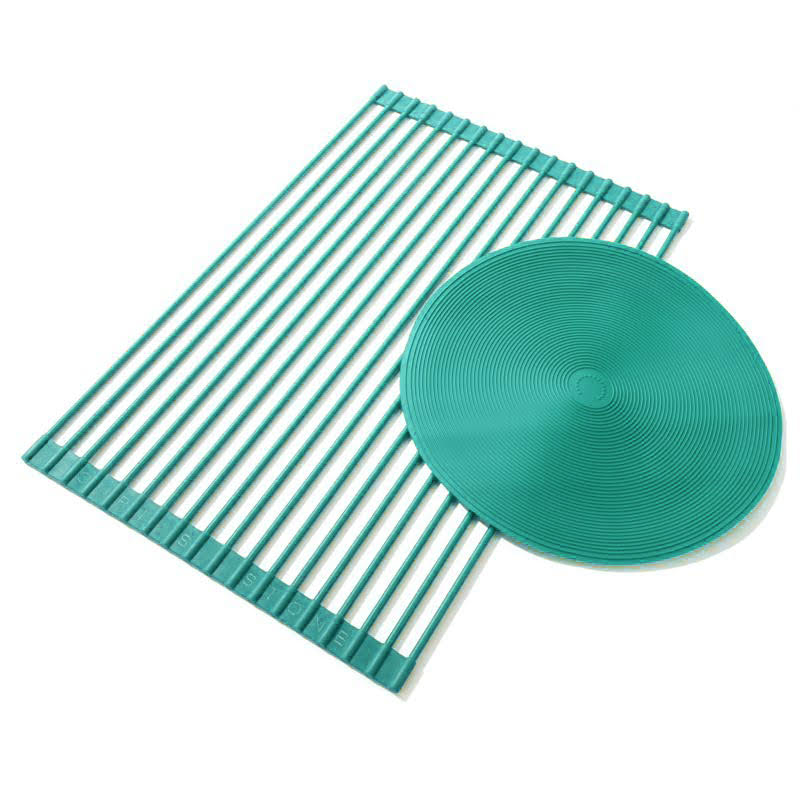 "Curtis Stone Multipurpose Drying Rack and 12"" Trivet 555-787"