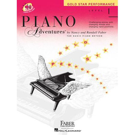 Gold Star Piano (Piano Adventures, Level 1, Gold Star Performance)