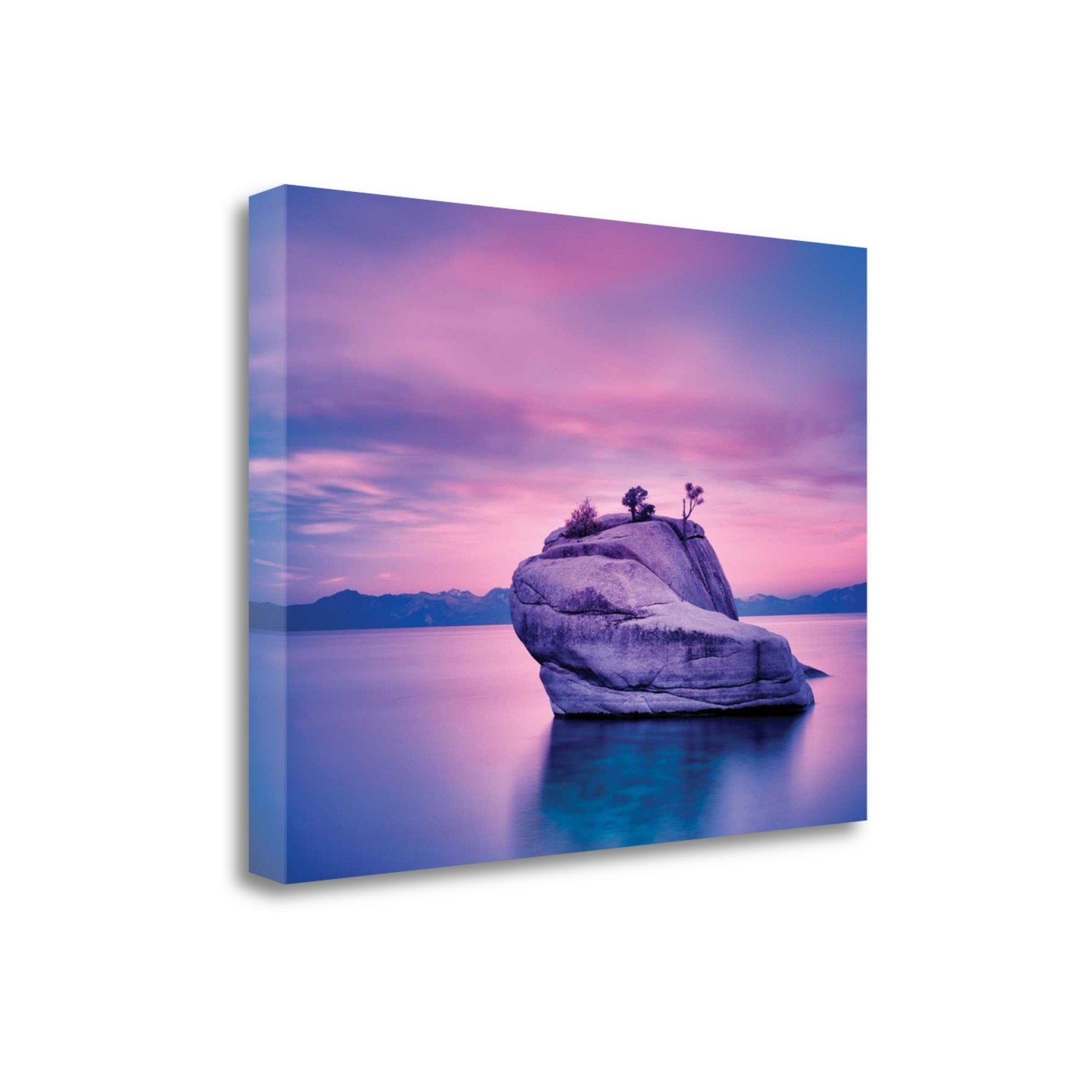Tangletown Fine Art Island Sunset Photographic Print On Wrapped Canvas Walmart Com Walmart Com