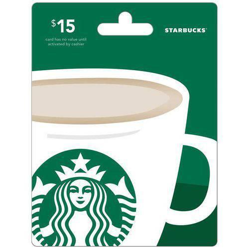 Starbucks $15 Gift Card