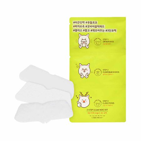 ETUDE HOUSE 3-Step Clear Nose Kit (3 Pack)
