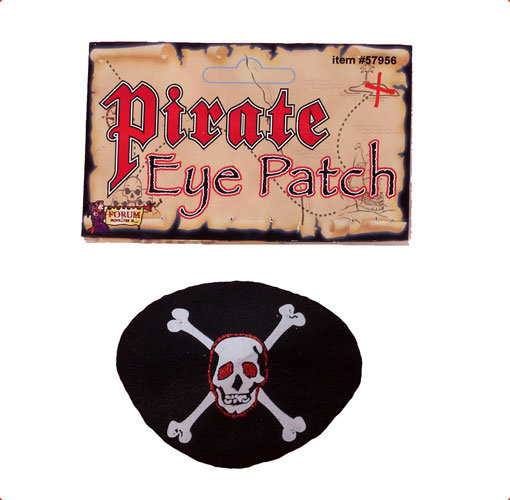 Deluxe Eye Patch for Pirate Costume