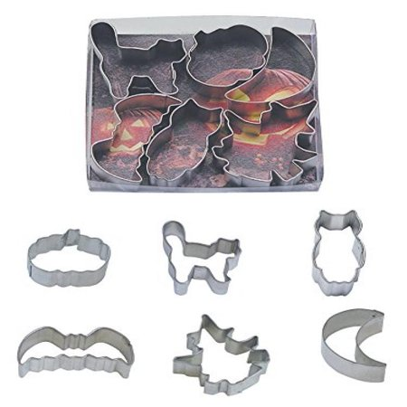 R & M International 1979 6-Piece Halloween Cookie Cutter Set, - Halloween Pumpkin Cookies