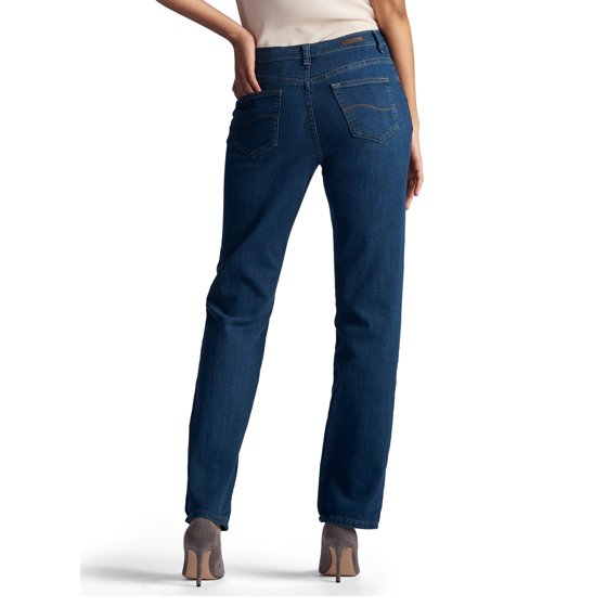 6669fec9 Lee Jeans - Women's Relaxed Fit Straight Leg Jean - Walmart.com