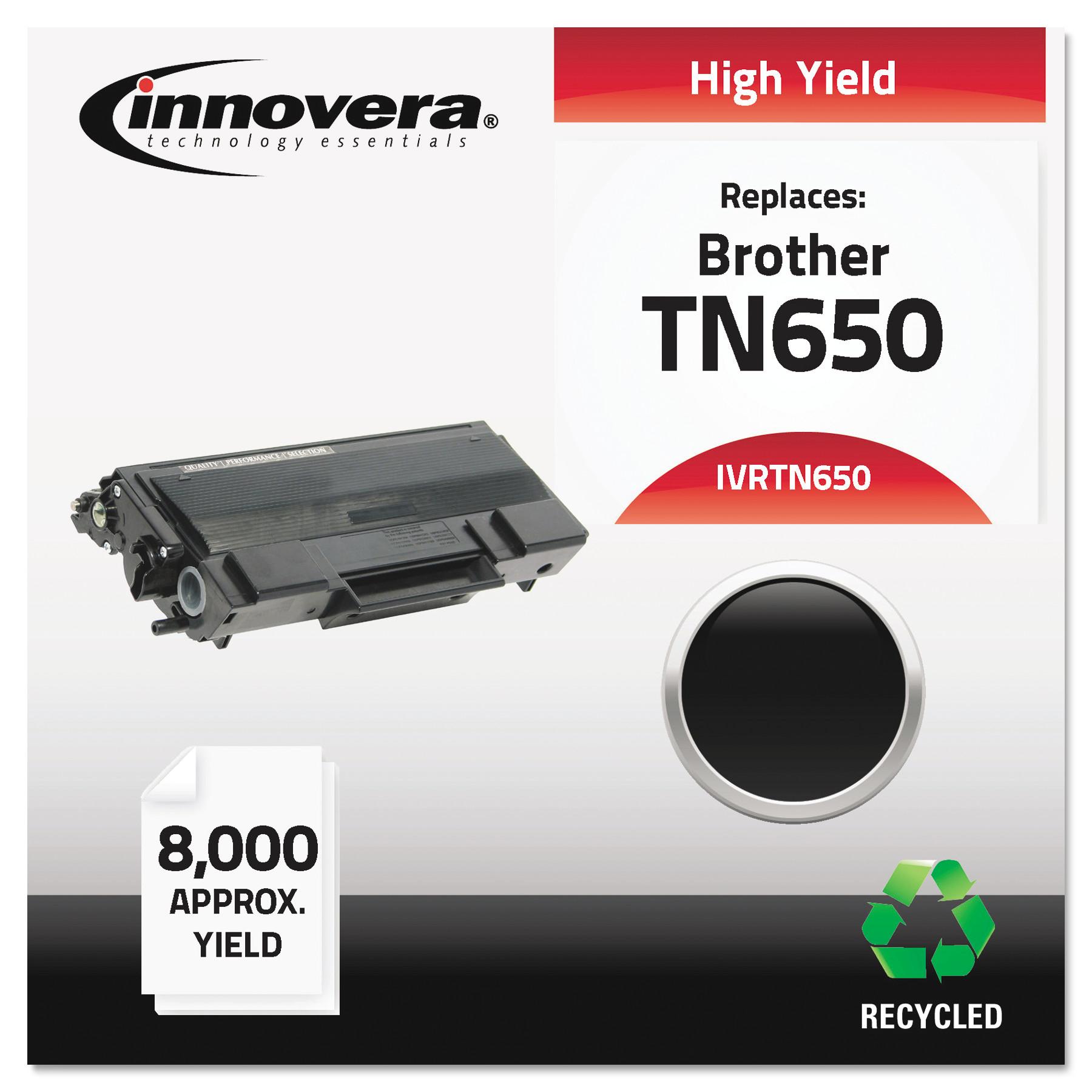 Innovera Remanufactured TN650 Laser Black Toner Cartridge