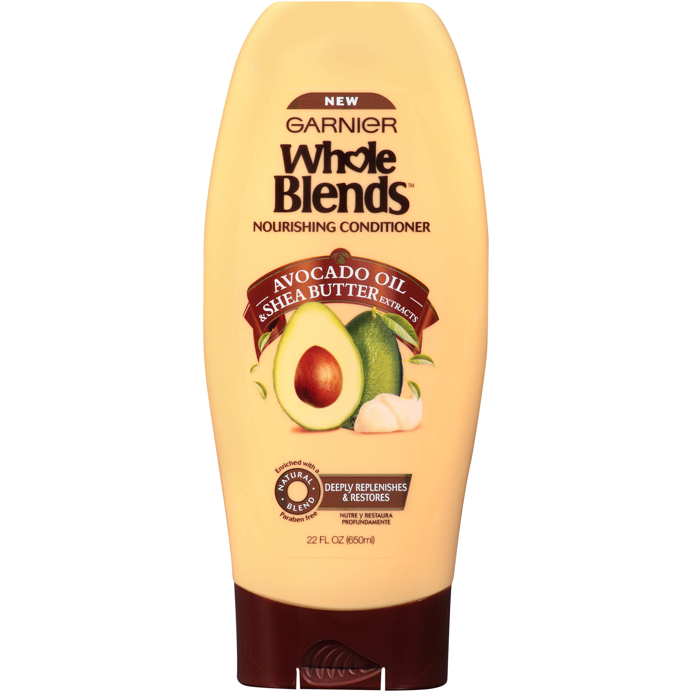 Garnier Whole Blends Conditioner with Avocado Oil & Shea Butter Extracts 22 FL OZ