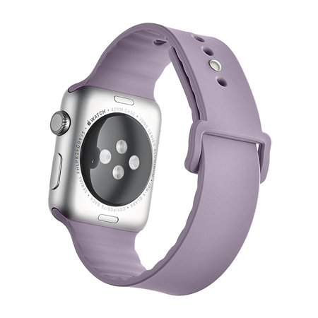 New Version Multicolored Replacement Smart Watch Silcone Strap Soft Sport Band M for 38mm Apple watch iWatch Series 3, Series 2, Series 1