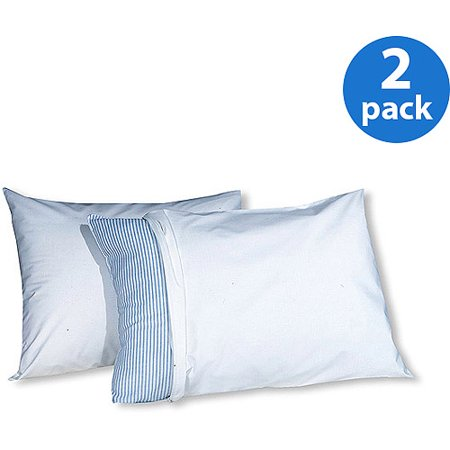 Fresh Ideas™ White Allergy Relief Pillow Protectors, 2- Pack