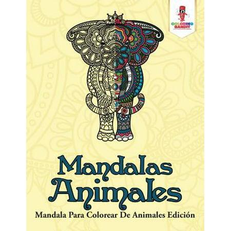 Mandalas Animales : Mandala Para Colorear de Animales Edicion