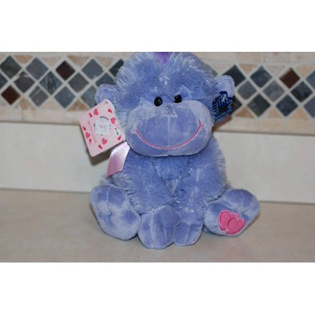 Applause Toy Store - Applause Valentine Gorilla Purple 9 Inches