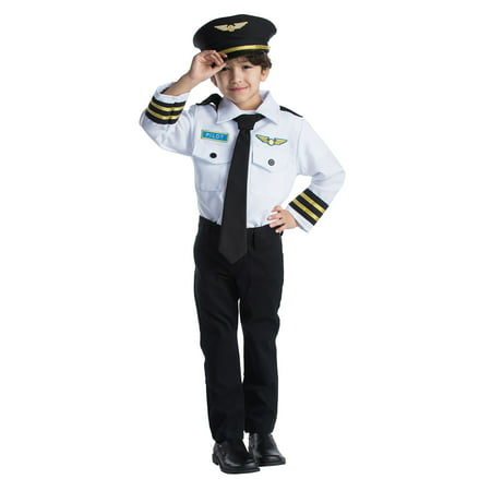 Pilot Role Play Set Costume for (Children's Play Costumes)